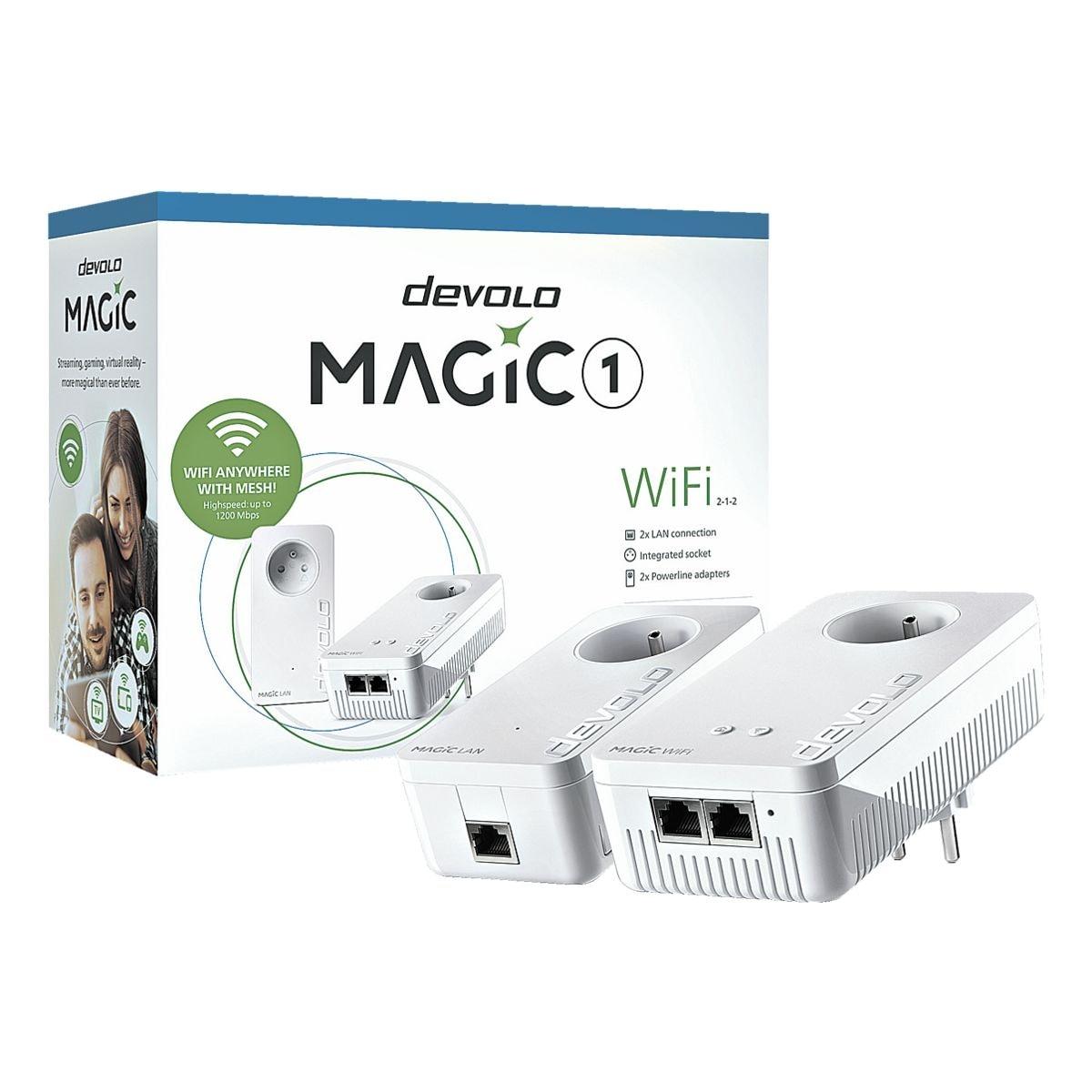 DEVOLO »Magic 1 WiFi 2-1« Starterkit