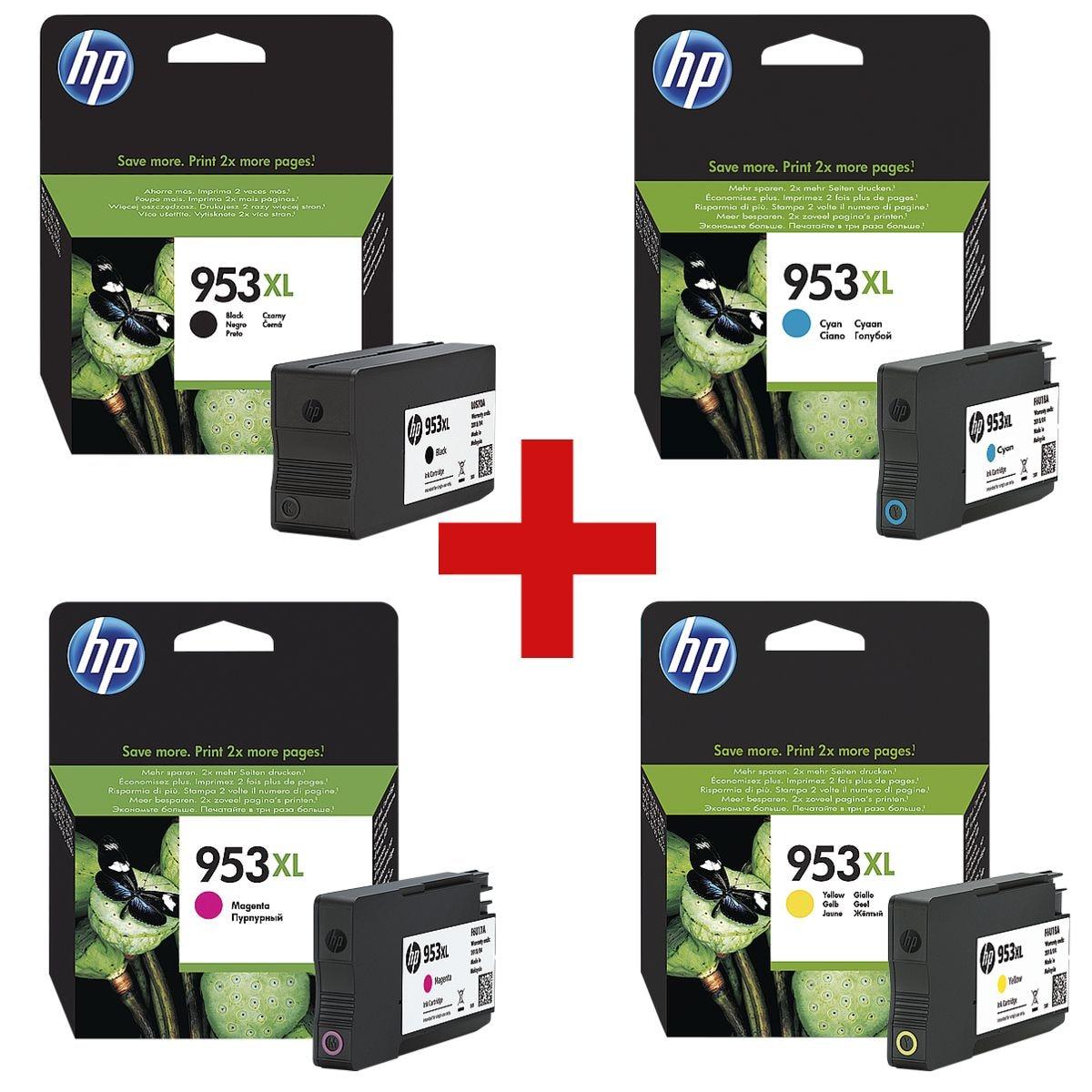 HP Inktpatroon HP 953XL multipak - 3HZ52AE