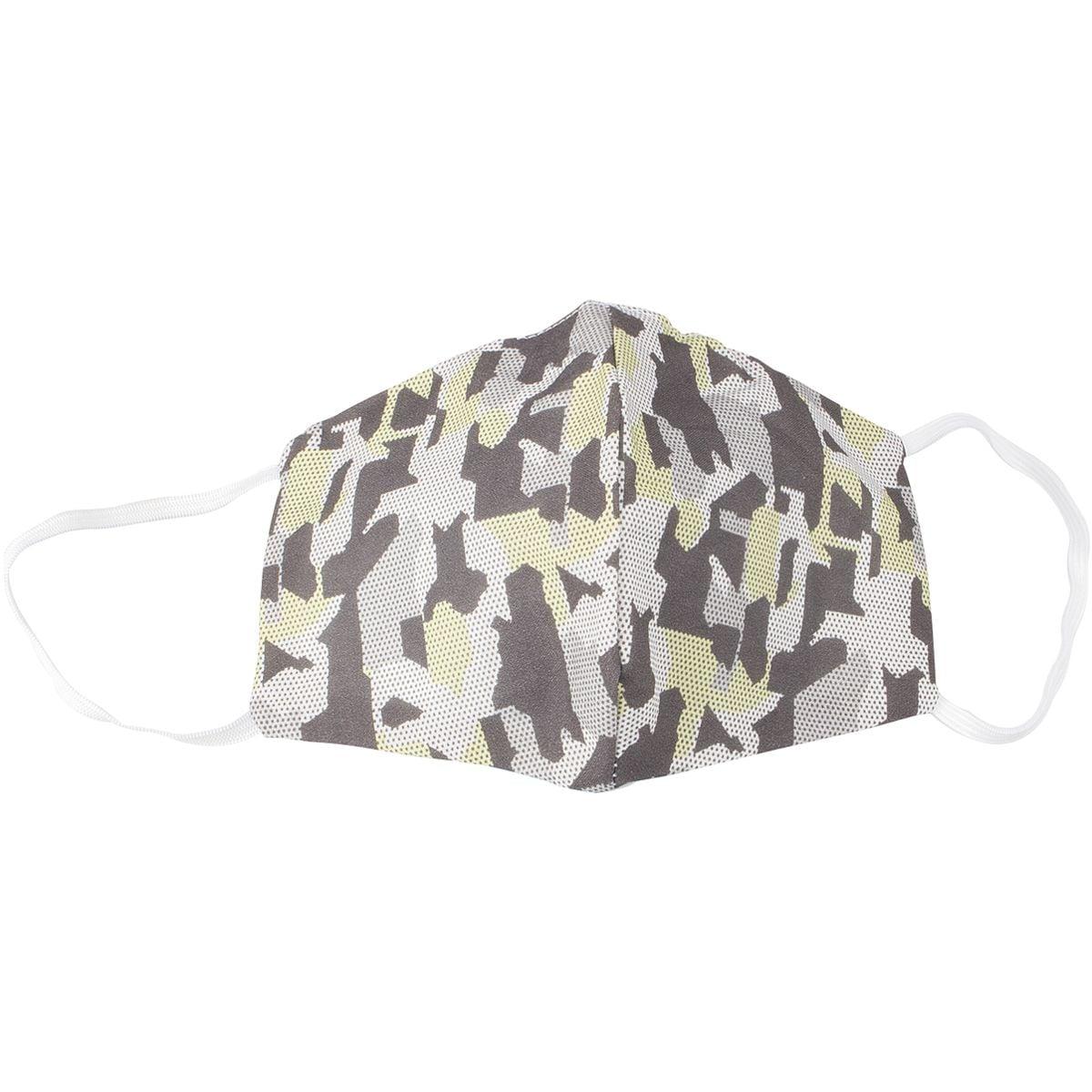 Pak met 5 wasbare mond-neus-maskers »Army Green«, herenmaat