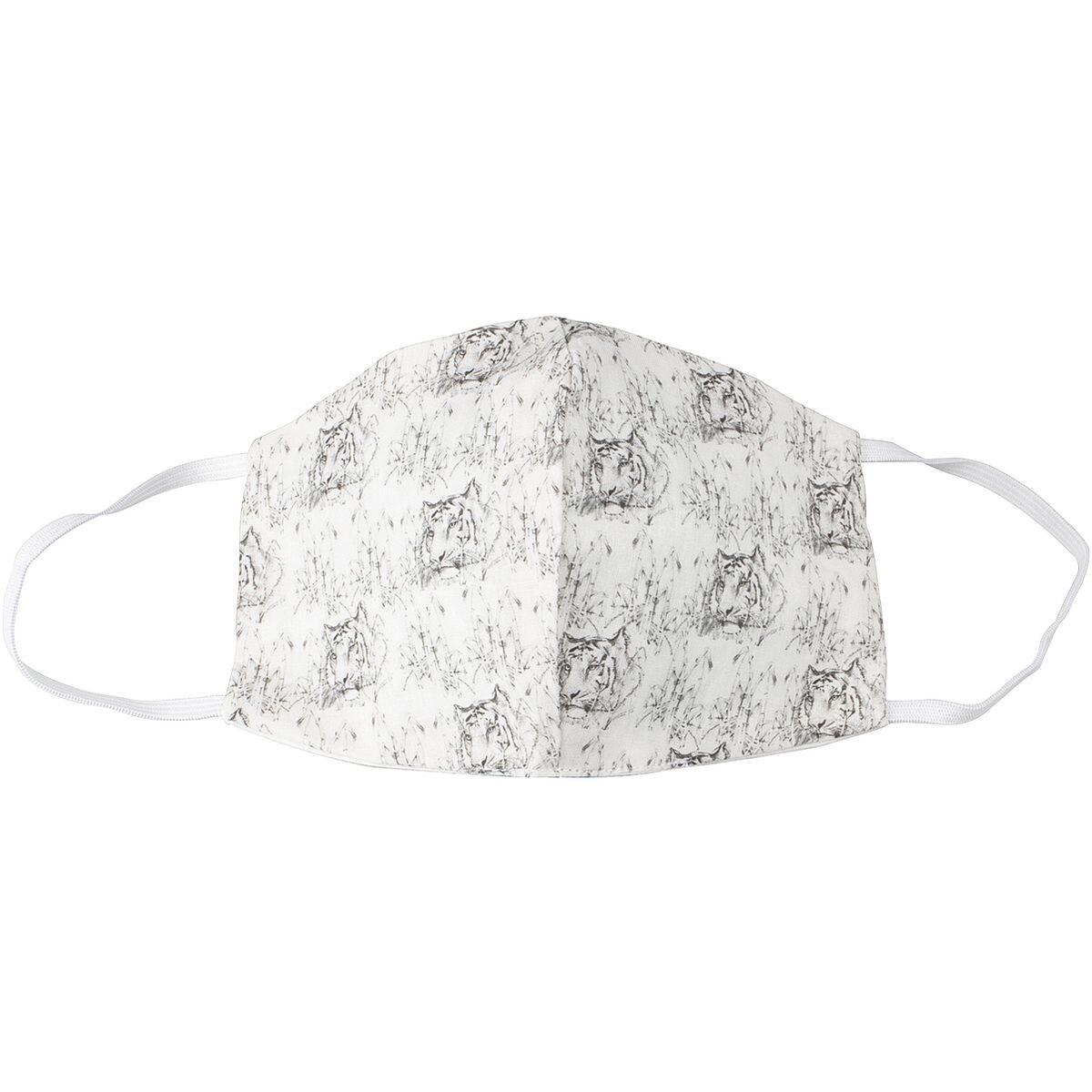 Pak met 5 wasbare mond-neus-maskers »Tigers«, herenmaat