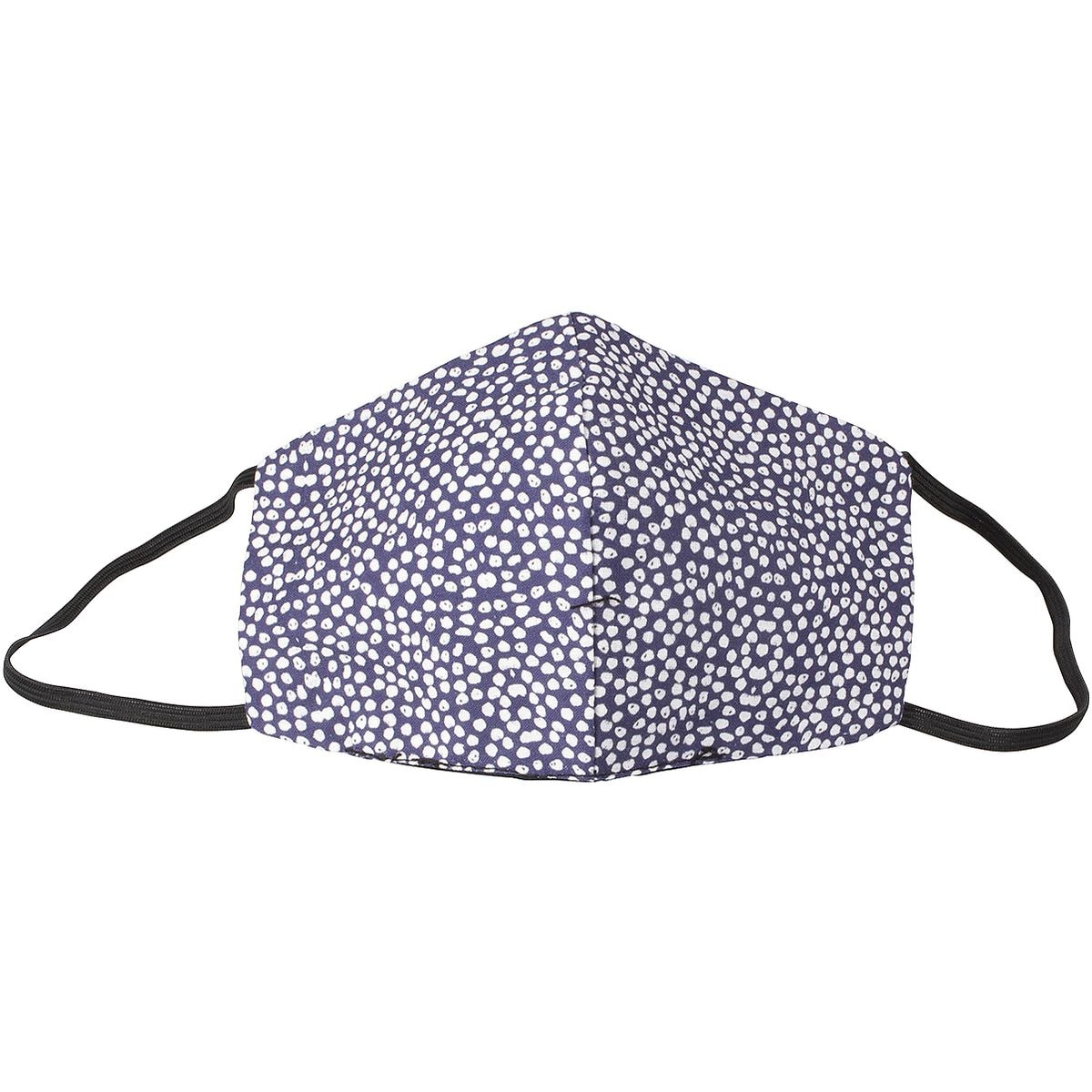 Pak met 5 wasbare mond-neus-maskers »Lots of Dots«, damesmaat