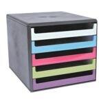 Ladebox met zwarte buitenzijde