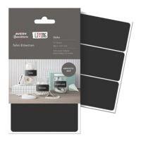Avery Zweckform Pak met 12 bord-etiketten - hoekig