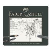 Faber-Castell Grafietpotloden en -krijt met accessoires »PITT Graphite Set«