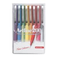 Artline Pak van 8 fineliners »200«
