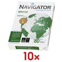 10x Multifunctioneel printpapier A4 Navigator Universal - 5000 bladen (totaal)