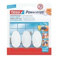 tesa Powerstrips »Haken small« ovaal tot 1 kg 57533