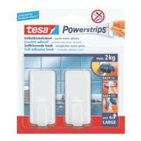 tesa Powerstrips »Haken large« hoekig 58010