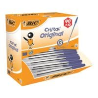 100x Balpen  BIC Cristal Medium, documentecht