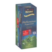 Meßmer Pepermuntthee  »Profi Line« zakjes voor een pot, aroma enveloppe, pak met 25