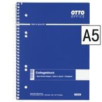 OTTO Office collegeblok standaard A5 geruit, 80 bladen