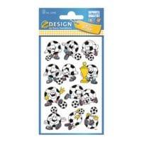 ZDesign Papieren stickers »Voetbal«