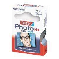tesa Plakfolie photo, transparant/aan twee zijden plakkend, 1 stuk(s)