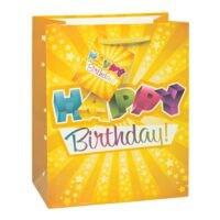 TSI Cadeautasje lak »Happy Birthday«