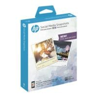 HP Foto-inkjetpapier »Social Media Snapshot« 10x13 25 bladen