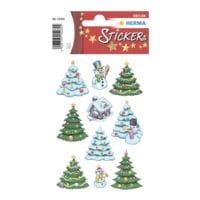 Herma Kerststickers »Kerst-winterbos«