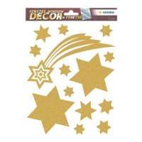 Herma Raamdecoratie ster / sterrengroepen