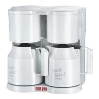 SEVERIN Duo-koffiezetapparaat met isoleerkannen »KA 5827«
