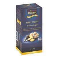 Meßmer Kruidenthee »ProfiLine zoete gember« zakjes voor een kopje, aroma enveloppe, pak met 25