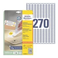 Avery Zweckform Pak van 6750 universele etiketten »L4730REV-25«