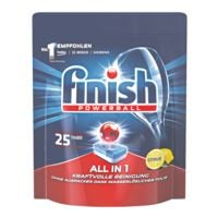 finish Pak met 25 vaatwasmachine tabs »All in 1 Citrus«