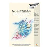 folia Pak met 5 olie- en acryl schilderblokken A3, elk 10 bladen