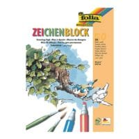 folia Pak met 10 tekenblokken A4, elk 50 bladen