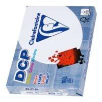Papier voor kleurenlaserprinters A4 Clairefontaine DCP - 250 bladen (totaal)