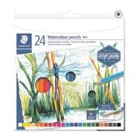 STAEDTLER Pak met 12 met water te verven kleur-/aquarelpotloden Design Journey