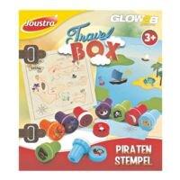 Joustra Reis-box piratenstempels - 9 stuks