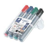 STAEDTLER Pak van 4 flipchart-markers »Lumocolor 356 B«