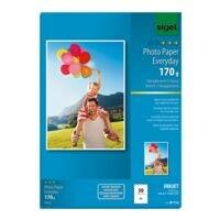 SIGEL Foto inkjetpapier »Everyday Plus« IP714 A4 170 g/m² 50 bladen