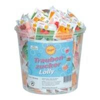 Frigeo Pak met 100 druivensuiker-lolly's
