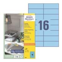 Avery Zweckform Pak van 1600 gekleurde etiketten