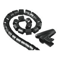 Hama Kabelbundel-slang 2 cm zwart 00020602