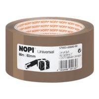verpakkingstape Nopi Universal, 50 mm breed, 66 m lang