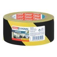 tesa Markeer-/waarschuwingstape zwart-geel 58130