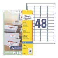 Avery Zweckform Pak van 1200 adresetiketten »J4791-25«