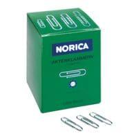 Norica Paperclips 24mm, zilverkleur, 1000 stuks