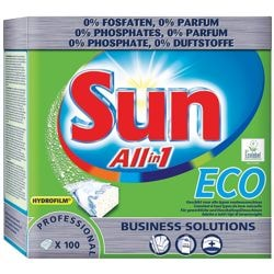 Sun Vaatwasmachine tabs »All In 1 Eco«