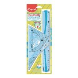 Maped 4-delige teken-/geometrieset »Maxi-Flex«