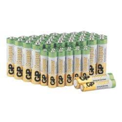 GP Batteries Pak met 44 batterijen »Super Alkaline« 32x Mignon / AA / LR06, 12x Micro / AAA / LR03