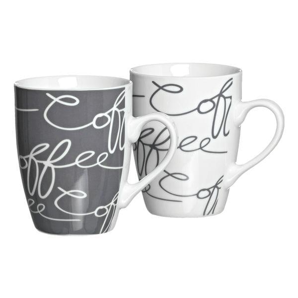 Ritzenhoff & Breker Pak met 6 koffiebekers »Cornello grey«