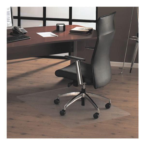 bureaustoelmat voor harde vloeren, polycarbonaat, rechthoek 75 x 119 cm, OTTO Office