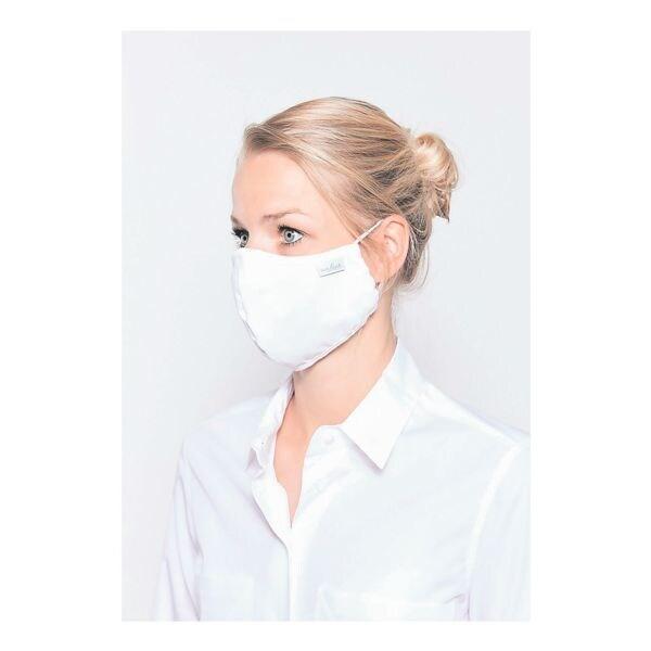 Van Laack Pak met 5x mond-neus-masker, wit