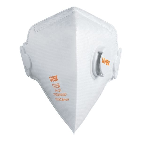 UVEX Pak met 15 wegwerp maskers »silv-Air classic 3210« met ventiel