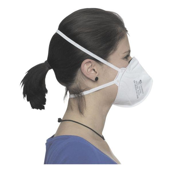 BBE Solutions Pak met 80 FFP2 maskers voor eenmalig gebruik, gevouwen »F-serie KLT01« zonder ventiel