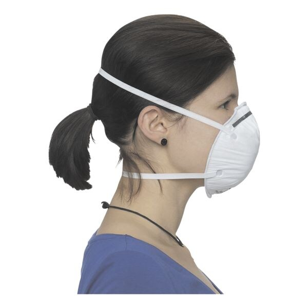 BBE Solutions Pak met 20 FFP2 maskers schaalvormig »K-Serie K9210« zonder ventiel