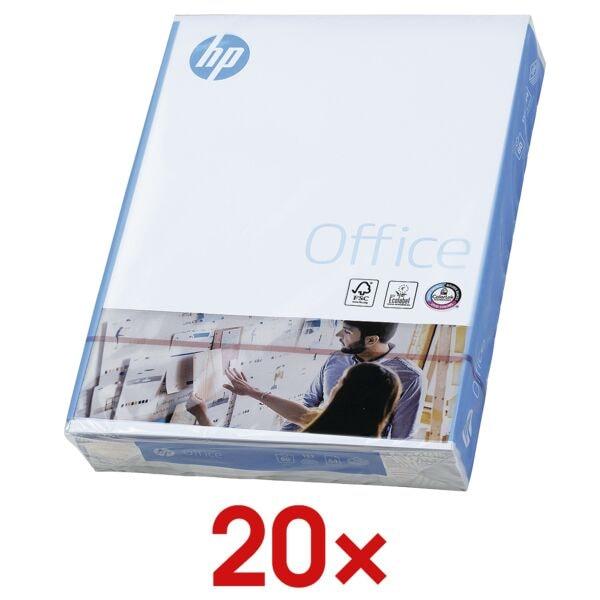 20x Multifunctioneel papier A4 HP Office - 10000 bladen (totaal), 80g/qm