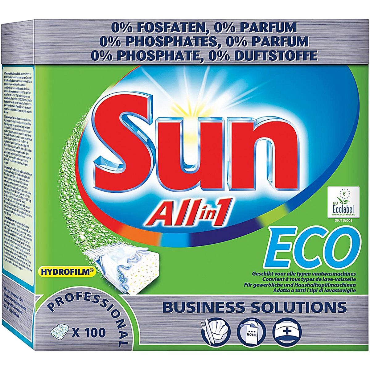 Sun Tablettes lave-vaisselle « All In 1 Eco »